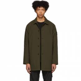 Stone Island Khaki Ghost Mac Coat 7215709F1