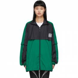 Off-White Green and Black River Trail Jacket OMBD017S20A230204400