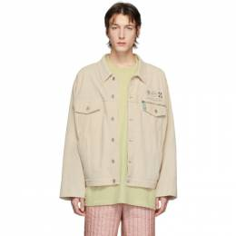 Off-White Off-White Suede Taft Point Jacket OMJA037S20H510126110