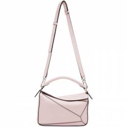 Loewe Pink Small Puzzle Bag 322.81.S21