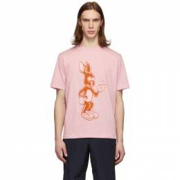 Paul Smith Pink Rabbit T-Shirt M1R-919T-AP1794