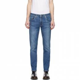 Levi's Blue 511 Slim-Fit Flex Jeans 04511-4307