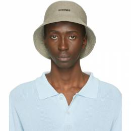 Jacquemus Green Le Bob Manosque Bucket Hat 205AC04-205 70580