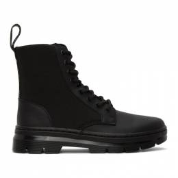 Dr. Martens Black Combs Utility Boots R25659001