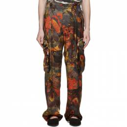 Dries Van Noten Multicolor Floral Trousers 20959-9080-606