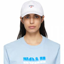 White Winged Foot Cap Noah NYC H3SS20WHT