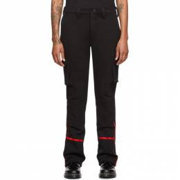 Black Fleece Bunker Pant Youths in Balaclava YOU01P005