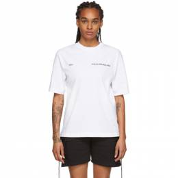 White You T-Shirt Youths in Balaclava YOU01T005