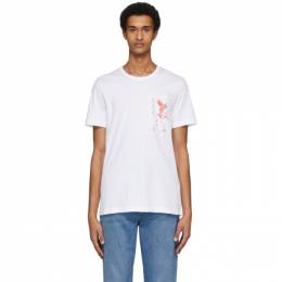 Tiger Of Sweden White Darian T-Shirt T68577002