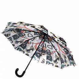 Burberry Multicolor Nylon Tragalfar Packable Umbrella 279077