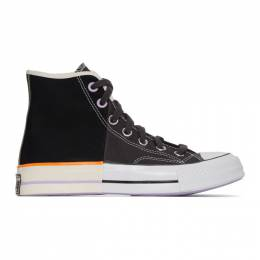 Converse Black Reconstructed Chuck 70 High Sneakers 167668C
