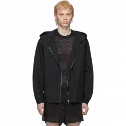 Rick Owens Black Champion Edition Hooded Jacket CM20S0010 215148