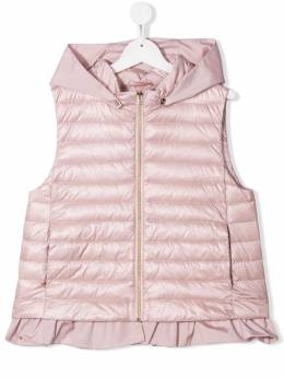TEEN hooded padded gilet Herno Kids PI0079G12017