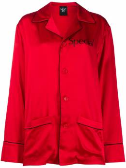 Christopher Kane пижама Special M0128SILKRED