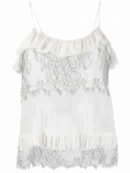 Twin-Set lace detail camisole top TT2140S1209200282