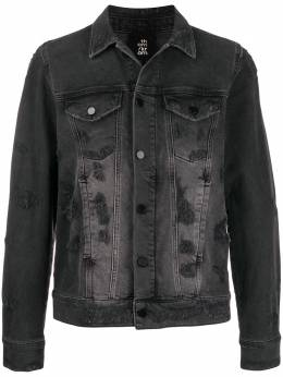 Thom Krom dyed denim jacket MJ50