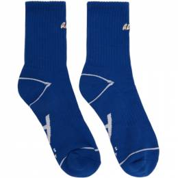 Ader Error Blue Tort.diago Socks 20ASSSO04BL