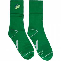 Ader Error Green Stonet Socks 20ASSSO08GN
