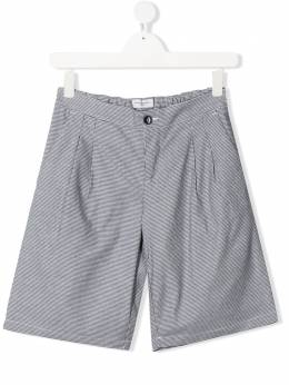 TEEN houndstooth tailored shorts Paolo Pecora Kids PP2302