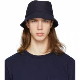 Indigo Chino Bucket Hat Blue Blue Japan 700073542