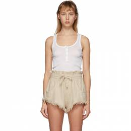 Isabel Marant Off-White Louisali Tank Top TS0723-20E032I