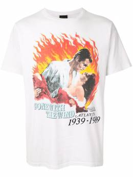 Fake Alpha Vintage Gone with the Wind print T-shirt TS0169