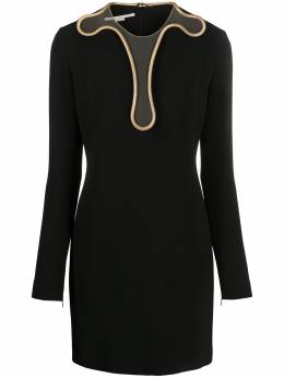 Stella Mccartney платье мини Isabela с цепочкой 600150SNA28