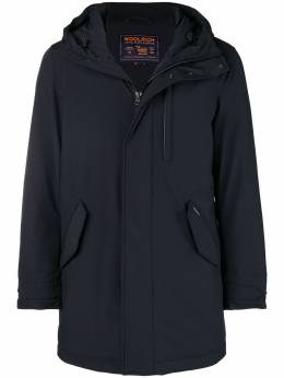 Woolrich hooded zipped coat WOCPS2705ST02