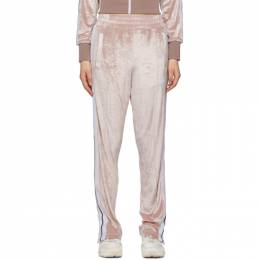Palm Angels Pink Chenille Lounge Pants PWCA035S20FAB0013001