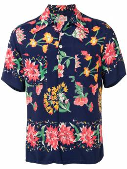 Fake Alpha Vintage 1950s floral print short-sleeved shirt HA0048