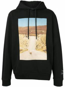 Marcelo Burlon County Of Milan толстовка Ostrich с капюшоном CMBB007R20FLE0051061