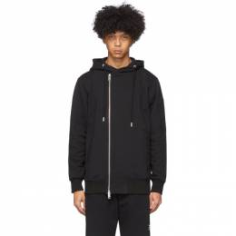 Diesel Black S-Giant Zip-Up Hoodie 00SEEZ 0IAJH