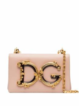Dolce and Gabbana сумка на плечо DG Girls с логотипом BB6498AZ801