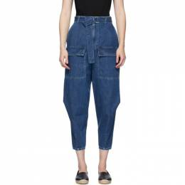 Stella Mccartney Blue Cocoon Jeans 600929SNH91