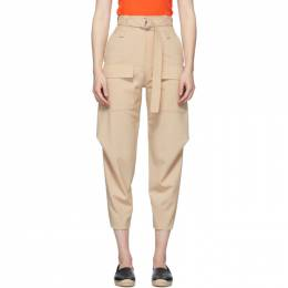 Stella Mccartney Beige Wool Adaline Cocoon Trousers 600604SOA41