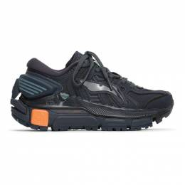 Li-Ning Black and Navy Sun Chaser Sneakers ARZQ004-10