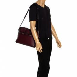 Coach Burgundy Ombre Leather Briefcase 287626