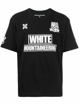 White Mountaineering футболка WM Football WM2071526