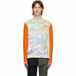 Multicolor Pols Girlfriend Long Sleeve T-Shirt Serapis SS20_LT_1