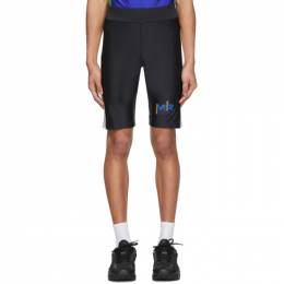 Martine Rose SSENSE Exclusive Black and Blue Cycling Shorts CYCLING SHORTS