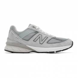 New Balance Grey Made In US 990 v5 Sneakers W990GL5