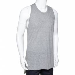 Fear Of God Fifth Collection Grey Jersey Sleeveless T Shirt S 291597
