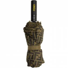 Fendi Brown Forever Fendi Umbrella FXH002 AAGO