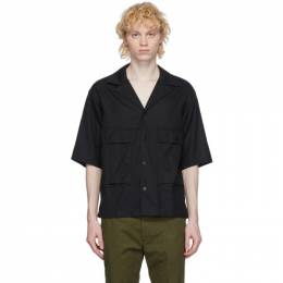 Visvim Black Cornet Shirt 0120105011014