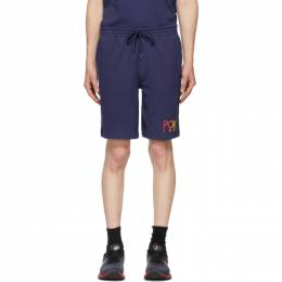 Polo Ralph Lauren Navy Fleece Logo Shorts 710800161003