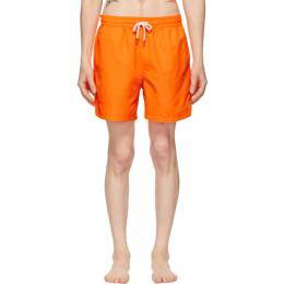 Polo Ralph Lauren Orange Traveler Swim Shorts 710799480003