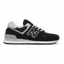 New Balance Black 574 Core Sneakers ML574EGK