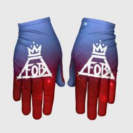 Перчатки 3D FALL OUT BOY SPACE COLLECTION
