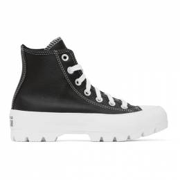 Converse Black Chuck Lugged High Sneakers 567164C