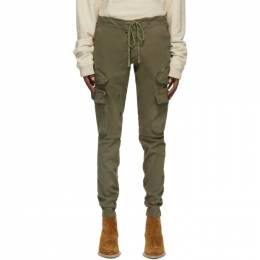 Greg Lauren Khaki Army Cargo Pants AM147